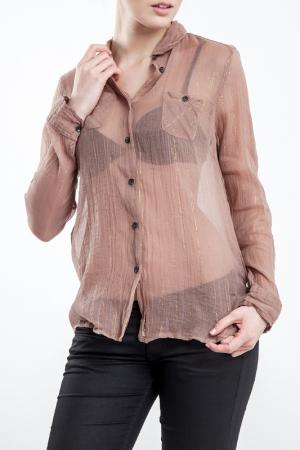 Shirt MAISON SCOTCH. Цвет: brown-rose and gold