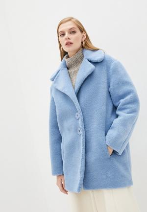 Пальто Forte Dei Marmi Couture. Цвет: голубой