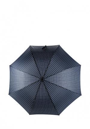 Зонт-трость Fabretti. Цвет: синий