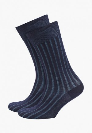 Носки 2 пары DIM. Цвет: синий