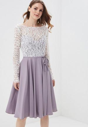 Платье Lakshmi fashion. Цвет: фиолетовый