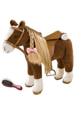 Лошадь Gotz. Цвет: коричневый