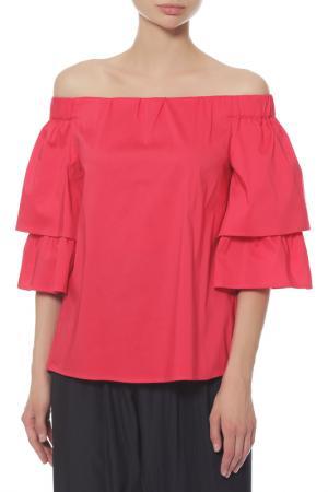 Блуза Anna Rita N. Цвет: красный