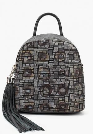 Рюкзак Fiato. Цвет: серый