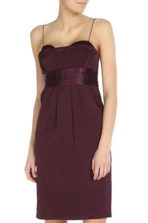 Платье Elie Tahari. Цвет: фиолетовый