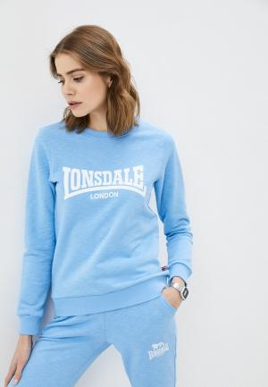 Свитшот Lonsdale. Цвет: голубой