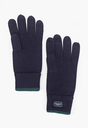 Перчатки Tom Tailor. Цвет: синий