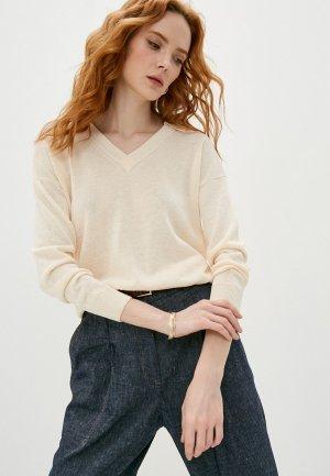 Пуловер Cappellini. Цвет: бежевый