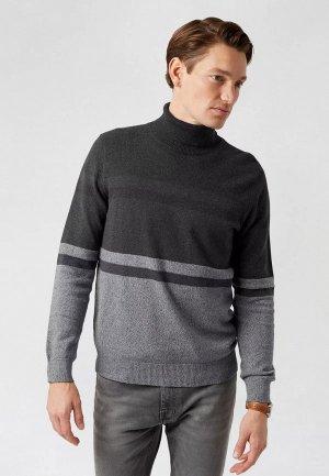 Водолазка Burton Menswear London. Цвет: серый