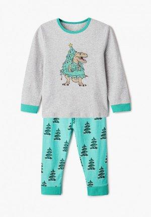 Пижама Cotton On. Цвет: разноцветный