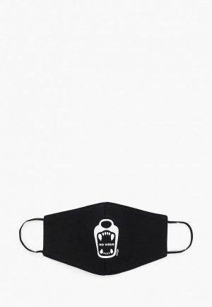 Маска для лица с фильтрующим элементом Orby. Цвет: черный