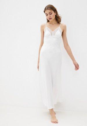 Сорочка ночная Rene Santi. Цвет: белый