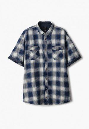 Рубашка Replika Jeans. Цвет: синий