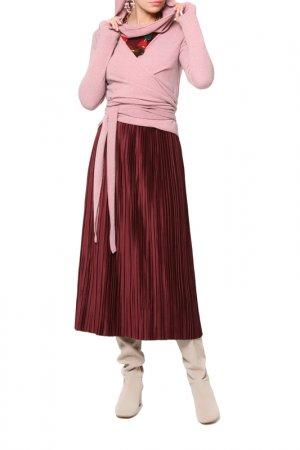 Блуза Kata Binska. Цвет: бордовый