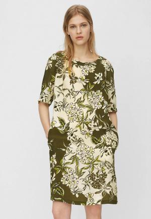 Платье Marc OPolo O'Polo. Цвет: хаки