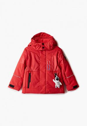 Куртка утепленная Poivre Blanc. Цвет: красный