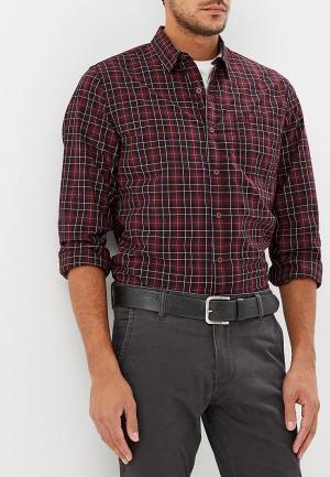 Рубашка Dockers. Цвет: бордовый