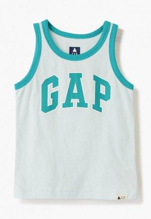 Майка Gap. Цвет: голубой