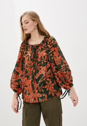 Блуза LAutre Chose L'Autre. Цвет: красный