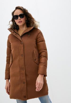 Куртка утепленная Blauer USA. Цвет: коричневый