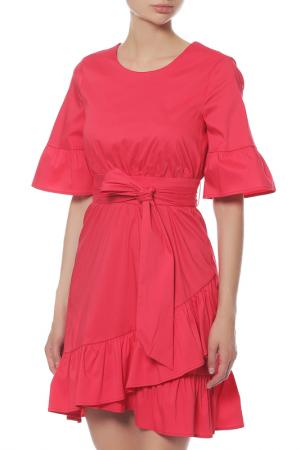 Платье Anna Rita N. Цвет: красный