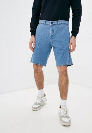 Шорты джинсовые Harmont & Blaine. Цвет: голубой