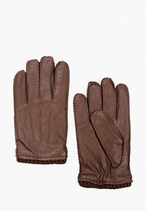 Перчатки Mango Man. Цвет: коричневый
