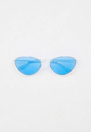 Очки солнцезащитные McQ Alexander McQueen. Цвет: белый