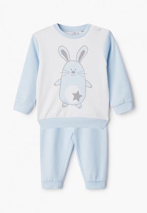 Пижама Blukids. Цвет: голубой