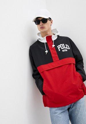 Ветровка Polo Ralph Lauren. Цвет: красный