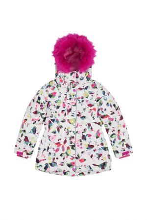 Куртка LEMON. Цвет: разноцветный
