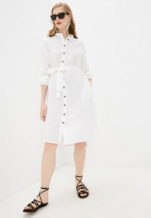 Платье Cappellini. Цвет: белый
