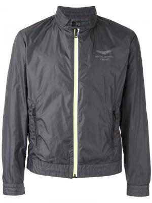 Куртка на молнии Hackett. Цвет: серый