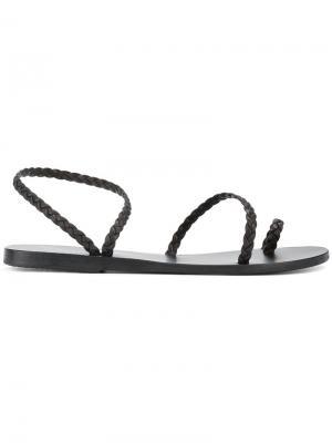Сандалии Eleftheria Ancient Greek Sandals. Цвет: чёрный