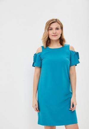 Платье Vis-a-Vis. Цвет: бирюзовый