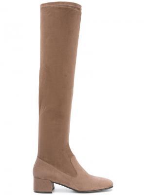 Ботфорты с закругленным носком Steffen Schraut. Цвет: коричневый