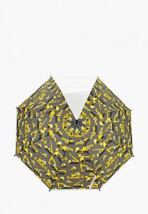 Зонт-трость Modis. Цвет: серый