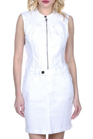 Платье FREESOUL. Цвет: белый
