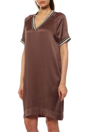 Платье BRUNELLO CUCINELLI. Цвет: c7196