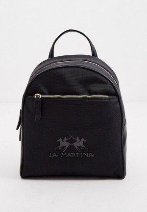 Рюкзак La Martina. Цвет: черный
