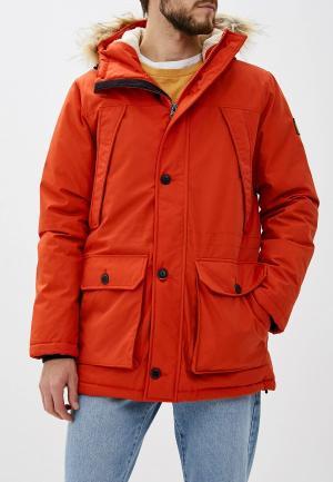Парка Element. Цвет: оранжевый