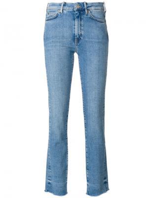 Джинсы модели bootut Mih Jeans. Цвет: синий