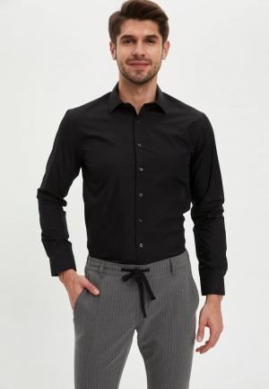Рубашка DeFacto. Цвет: черный