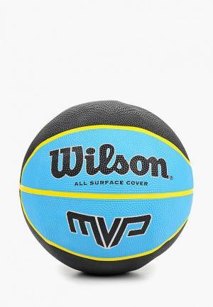 Мяч баскетбольный Wilson. Цвет: разноцветный