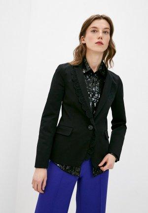 Пиджак Love Moschino. Цвет: черный