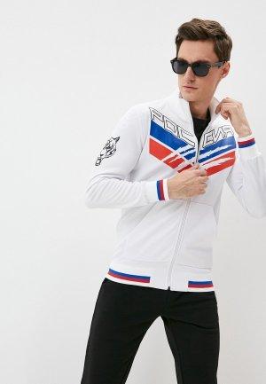 Олимпийка Plein Sport. Цвет: белый