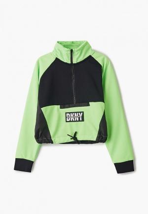 Олимпийка DKNY. Цвет: зеленый