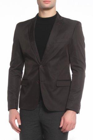 Пиджак Absolutex. Цвет: черный