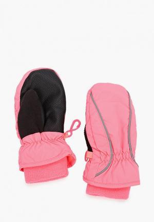 Варежки Gap. Цвет: розовый