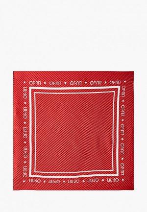 Платок Liu Jo. Цвет: красный